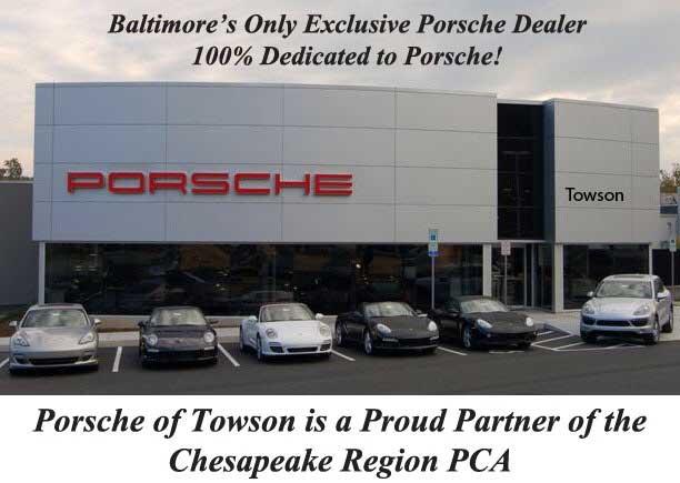 Porsche Of Towson >> Porsche Club Of America Chesapeake Region